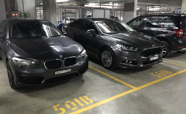 Indoor lot parking on McEvoy Street in Waterloo NSW