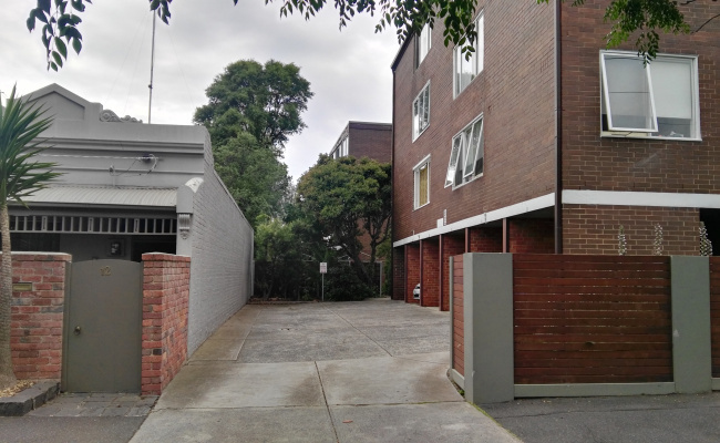parking on Mountain Street in South Melbourne Victoria