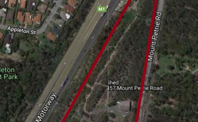 parking on Mount Petrie Road in MacKenzie