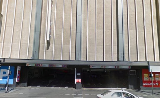 parking on North Terrace in Adelaide