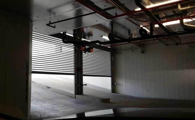 Secure underground parking near major transport