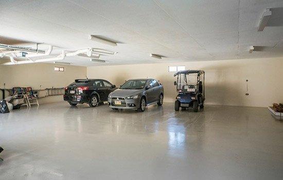 Undercover parking on Parkes Street in Harris Park