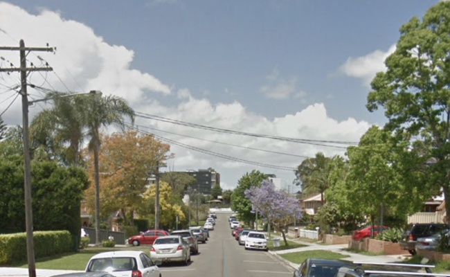 parking on Paul Street in North Ryde New South Wales