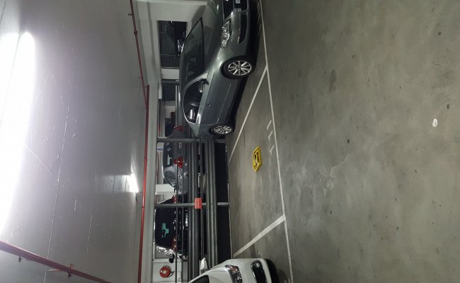 Undercover parking on Russell Street in Melbourne