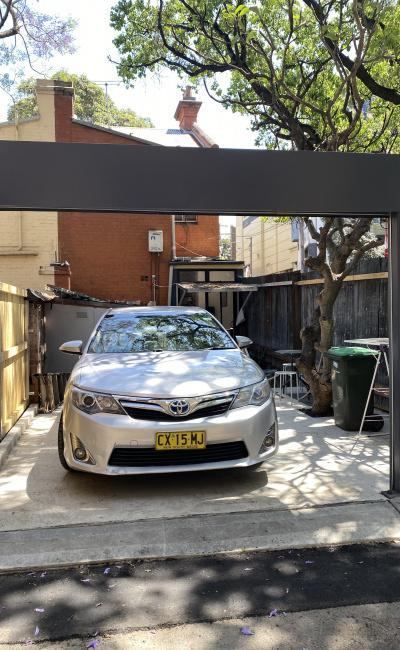 Secure Private Parking Space