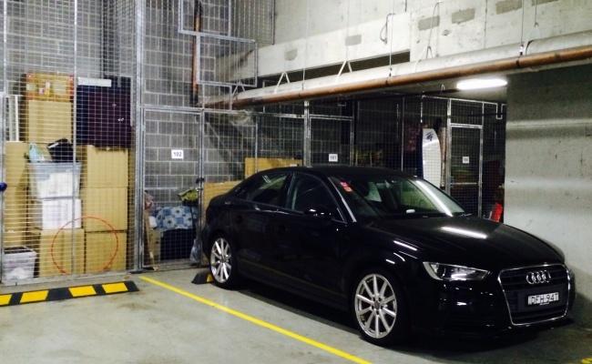 parking on Shoreline Drive in Rhodes NSW