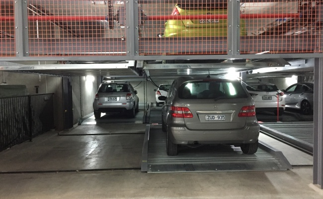 Great parking space in CBD