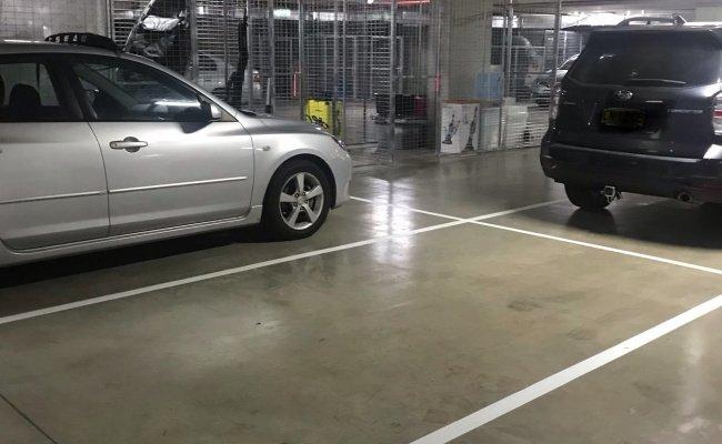 parking on South Village Apartments Kirrawee in Princes Highway