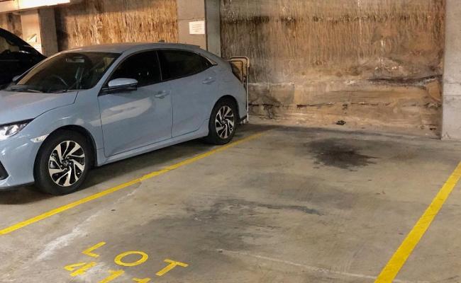 parking on Sussex Street in Sydney