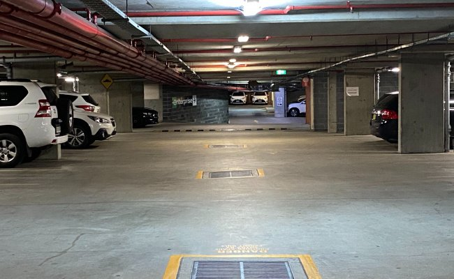 parking on Victoria Street in Potts Point New South Wales