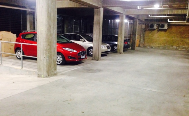 parking on Victoria Street in North Melbourne
