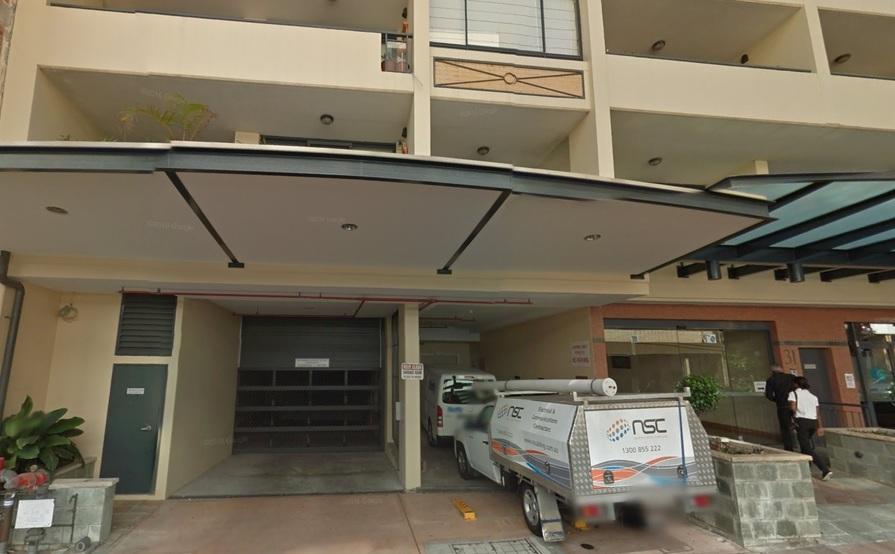 parking on Bertram St in Chatswood NSW 2067