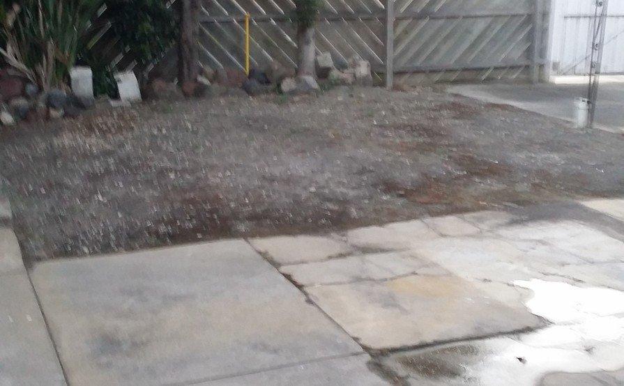 Secure backyard space in Glenroy