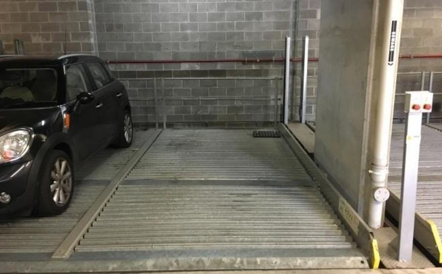 Off street secure parking
