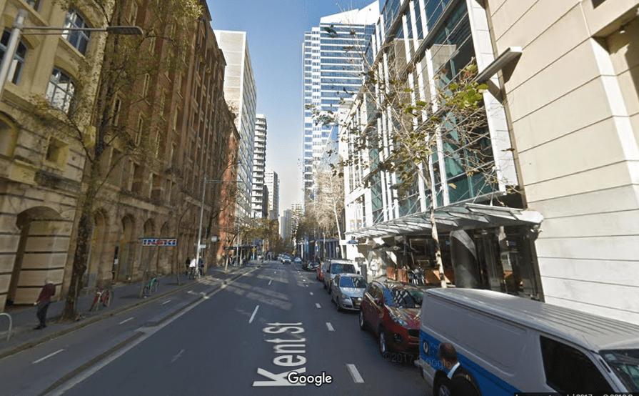 parking on Kent St in Sydney