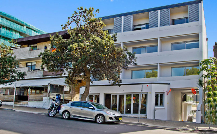 parking on Hall St in Bondi Beach NSW 2026