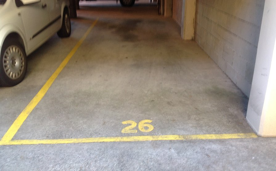 Neutral Bay - Secured Parking (undercover-ground level)