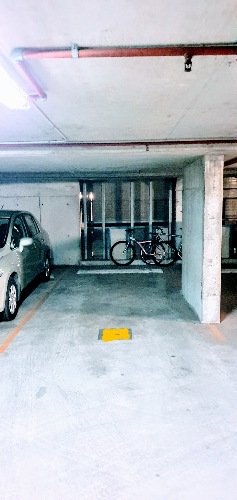 Indoor lot parking on Hassall St in Parramatta