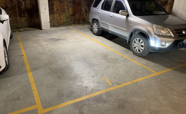 Bondi Junction secure parking space, very close to transport, shops, buses etc.