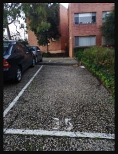 Outdoor lot parking on 342 Dryburgh Street in North Melbourne Victoria Australia