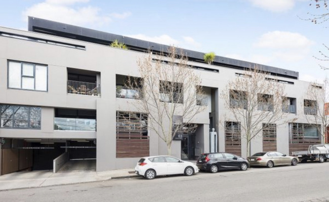 Indoor lot parking on Acland Street in St Kilda Victoria