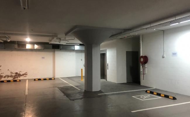 Lock up garage parking on Adelaide Street in Brisbane City