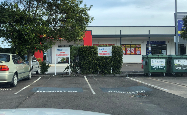 Outdoor lot parking on Aerodrome Rd in Maroochydore