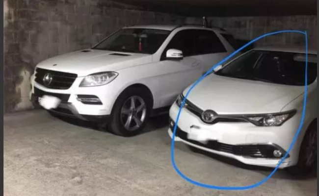 Undercover parking on Albert Avenue in Chatswood New South Wales