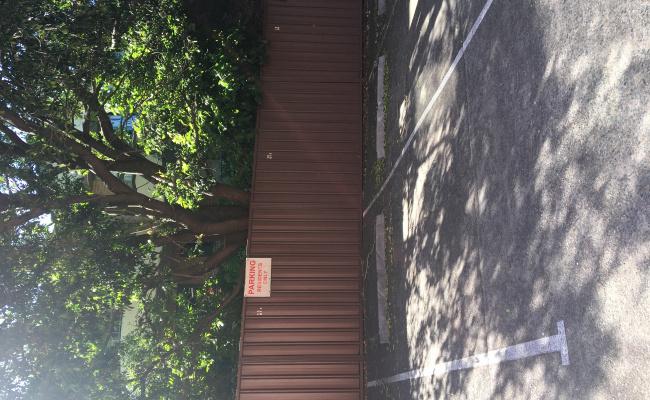 Outside parking on Albert Road in Strathfield New South Wales