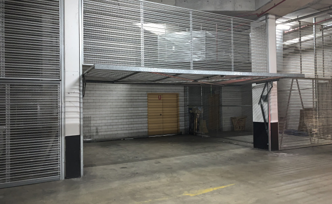 Self-storage Facility parking on Albert Road in Strathfield