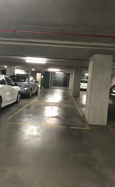 Indoor lot parking on Albert Street in East Melbourne Victoria