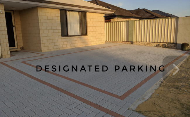 Driveway parking on Alcock Street in Maddington