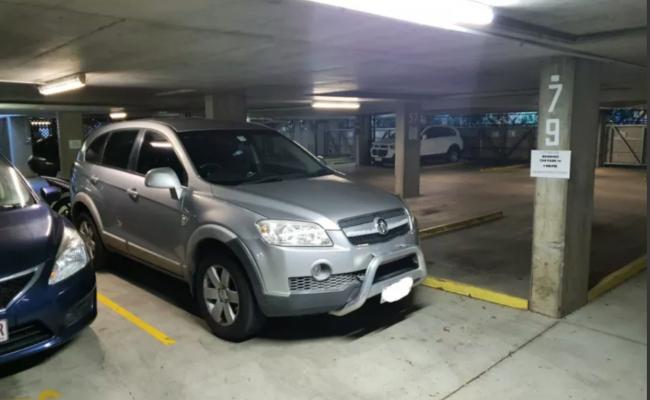 Brisbane City - Secure Covered Parking near Botanic Gardens