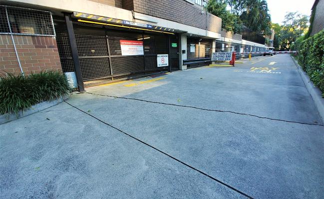 Indoor lot parking on Margaret Street in Brisbane City Queensland