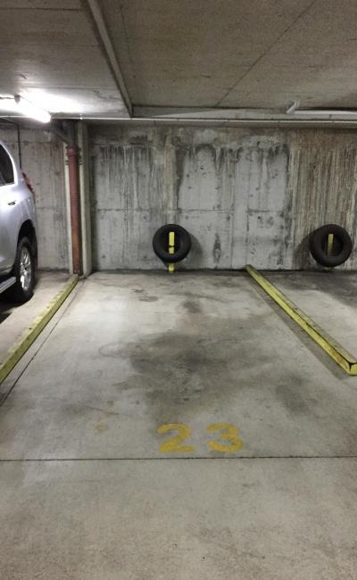 Indoor lot parking on Alice Street in Brisbane City Queensland