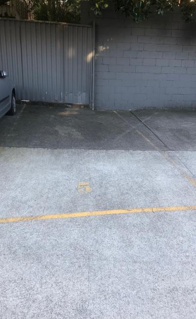 Driveway parking on Alison Road in Randwick NSW