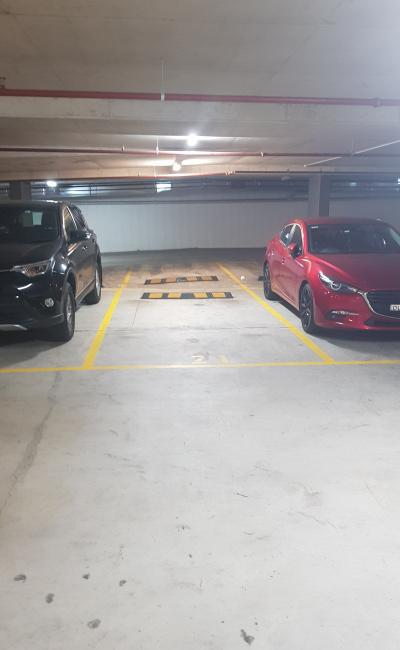 Undercover parking on Allengrove Crescent in North Ryde New South Wales