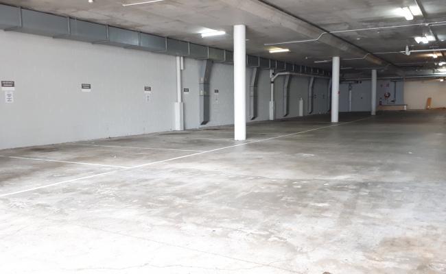 Indoor lot parking on Amelia Street in Fortitude Valley Queensland