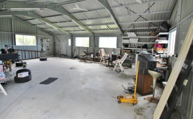 140 sqm shed space STORAGE only