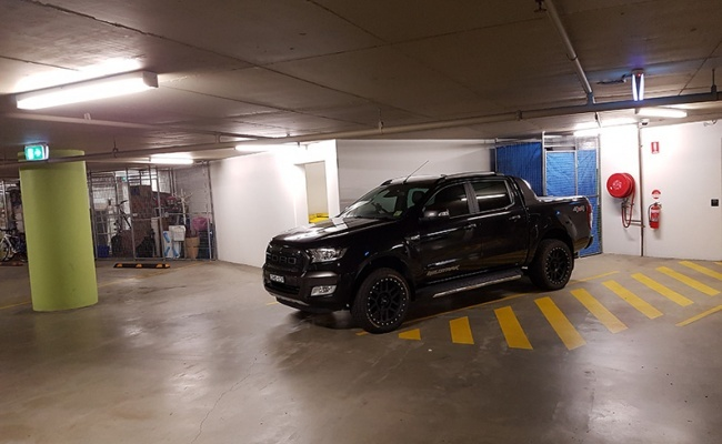 parking on Australia Avenue in Sydney Olympic Park NSW