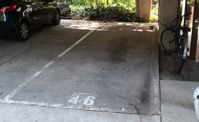 Carport parking on Avoca Street in South Yarra Victoria