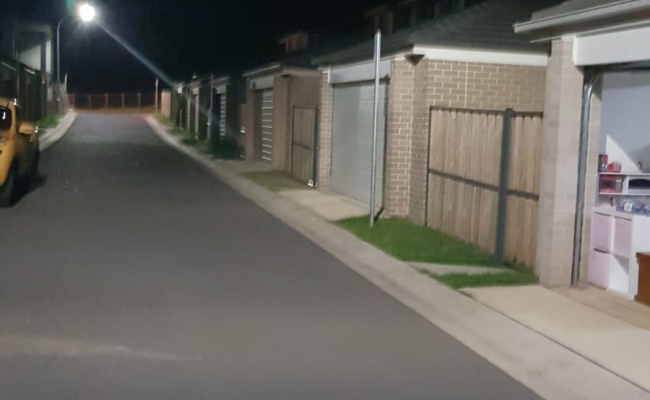 Lock up garage parking on Ballymore Avenue in Kellyville NSW