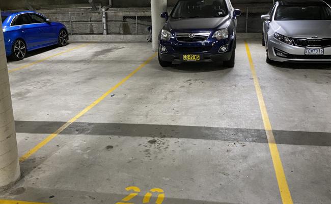 Tandem Carpark in Darlinghurst