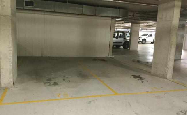 Indoor lot parking on Barina Downs Rd in Baulkham Hills