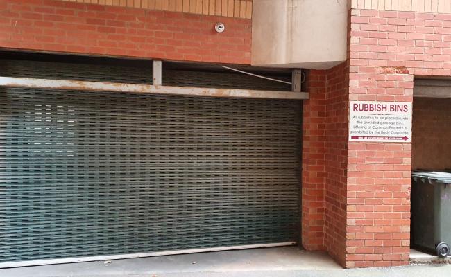 Lock up garage parking on Barkly Street in Carlton