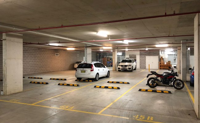 Indoor lot parking on Barr St in Camperdown NSW