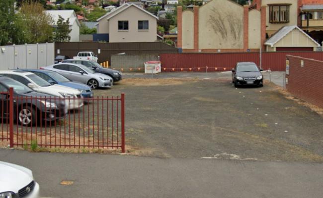 Outdoor lot parking on Bathurst Street in Launceston Tasmania
