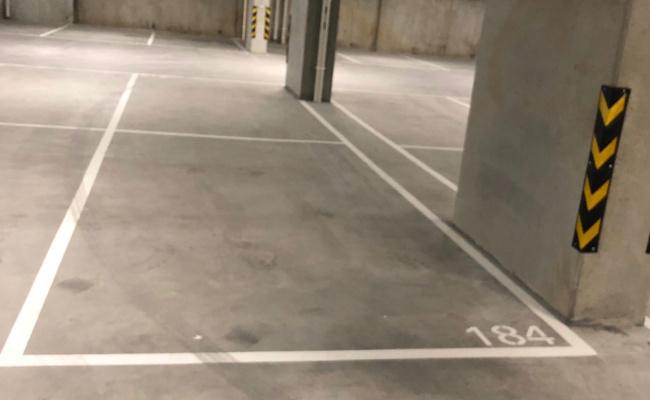 Indoor lot parking on Batman Street in West Melbourne Victoria