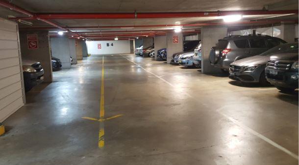 High security underground parking Bayswater Rd Potts Point
