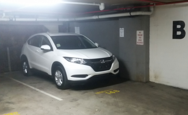Undercover parking on Bayswater Road in Potts Point